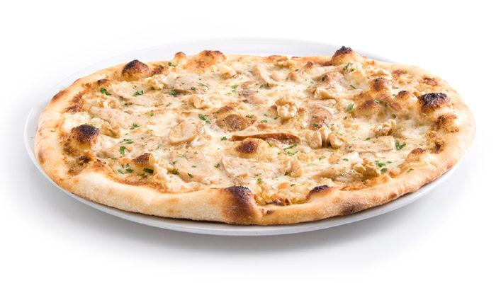 pizza noci e porcini