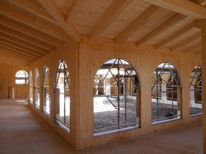 Cappella in legno Norcia