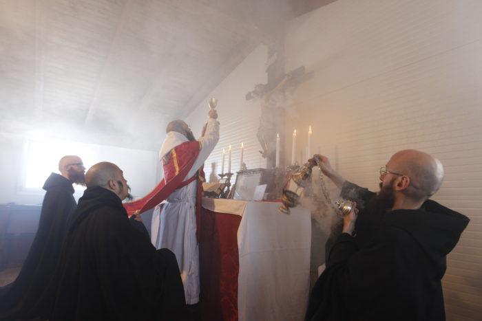 Monaci benedettini Norcia