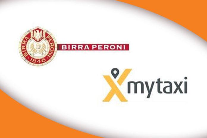 Birra Peroni e mytaxi