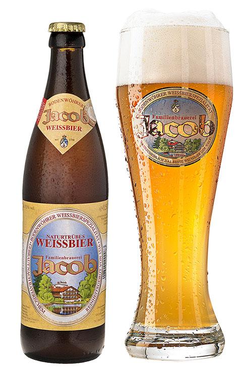 Weissbier Flasche Jacob