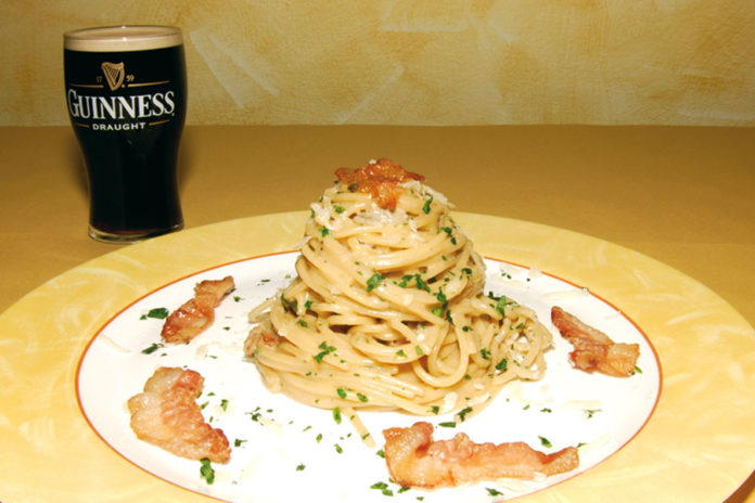 spaghetti guinness