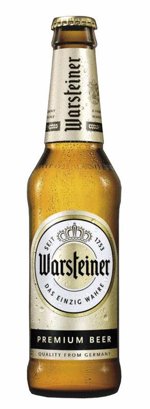 Birra Warsteiner nuovo pack