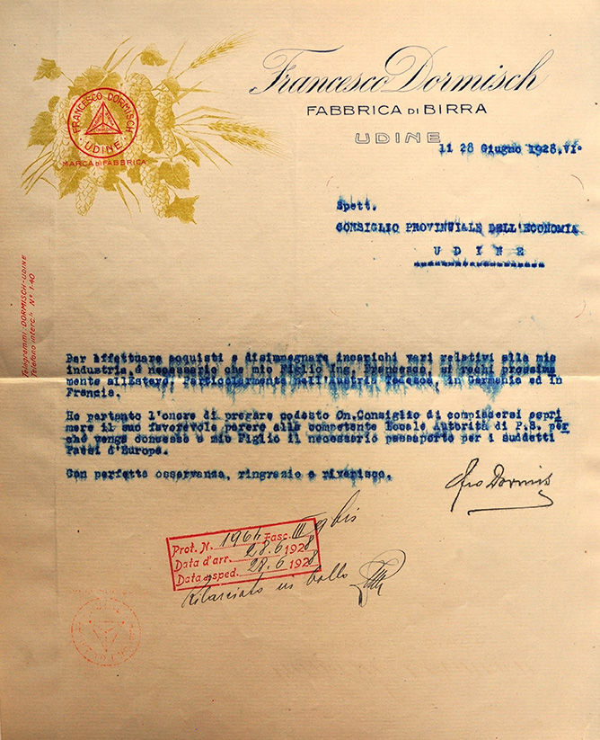 Carta-Intestata-Dormisch-1928