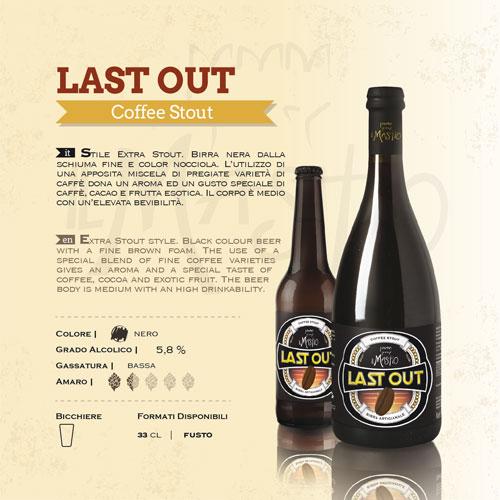 Scheda birra Last Out