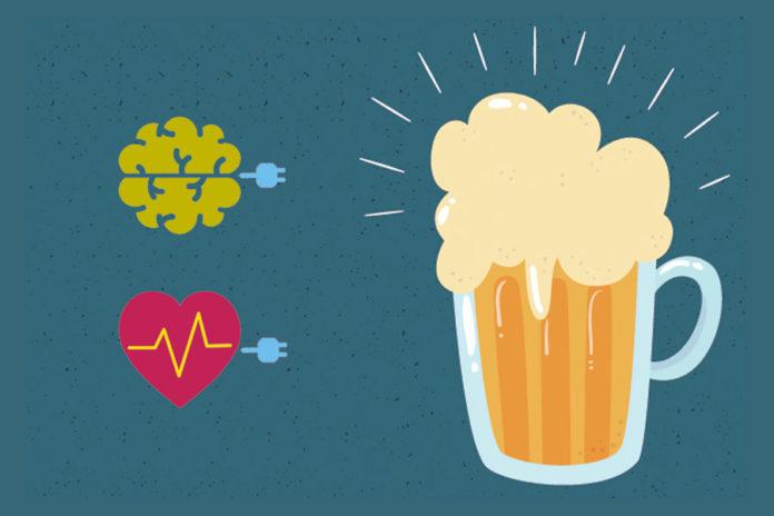 cuore cervello birra