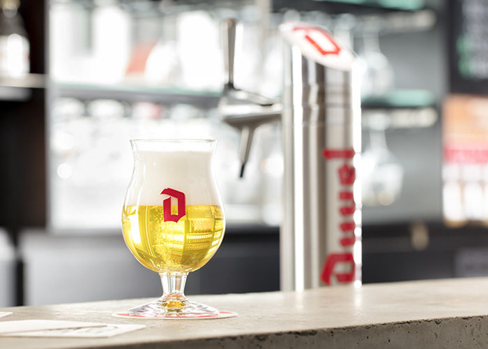 Duvel on Tap spina