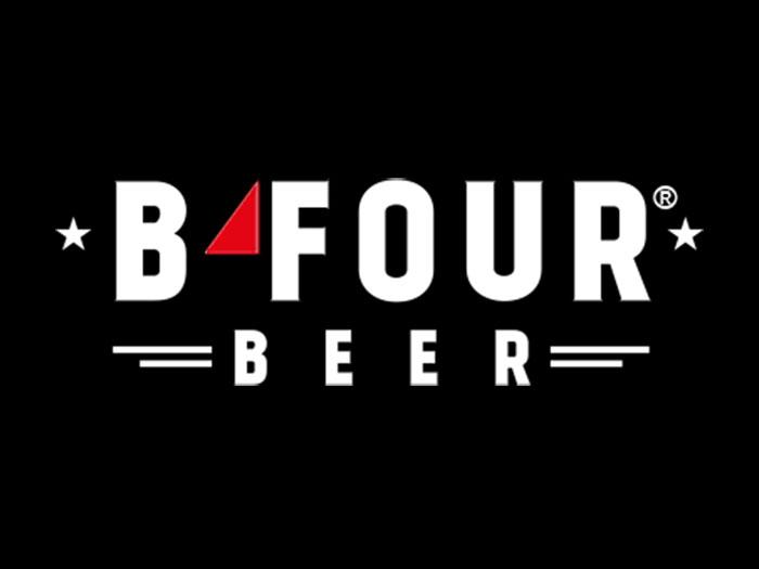 B-four Logo
