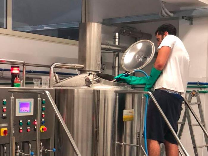 birrificio rock brewery