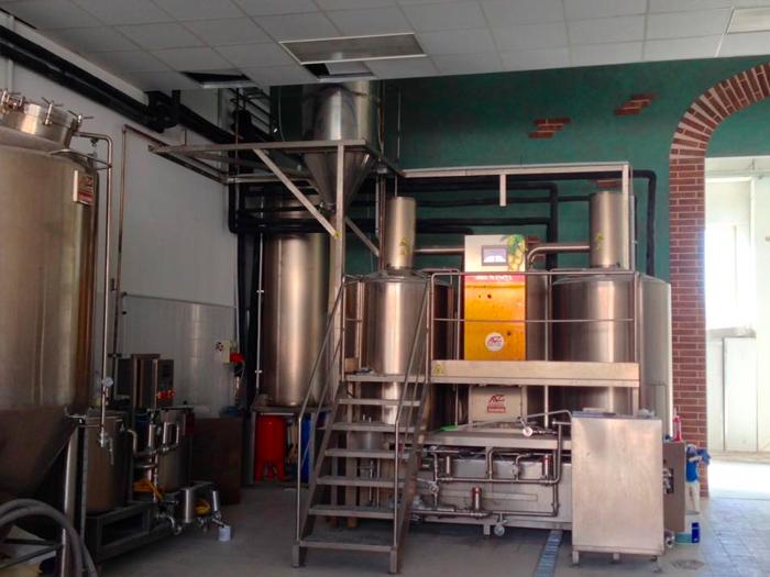 impianto birra bro