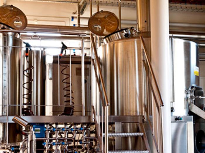 impianto birrificio la mata