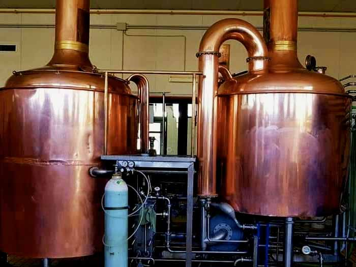 impianto birrificio pontino
