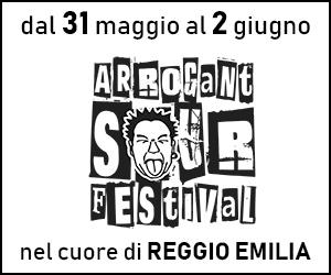 Banner ARROGANT SOUR FESTIVAL