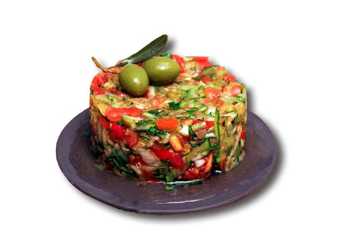 tartara verdure