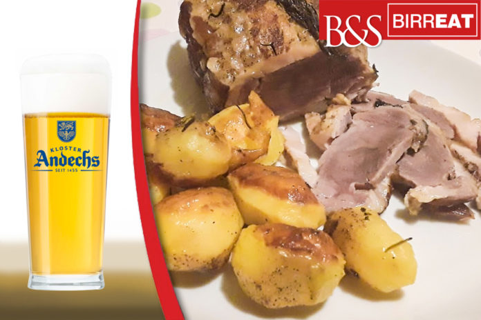 porchetta alla birra andechs