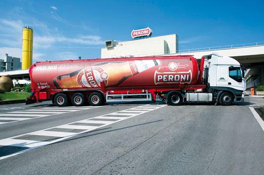 Birra Peroni autotreno